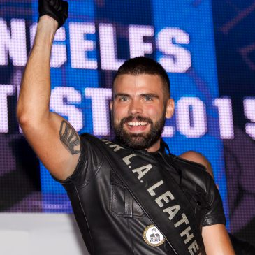 Patrick Smith Wins Mr. Los Angeles Leather 2015